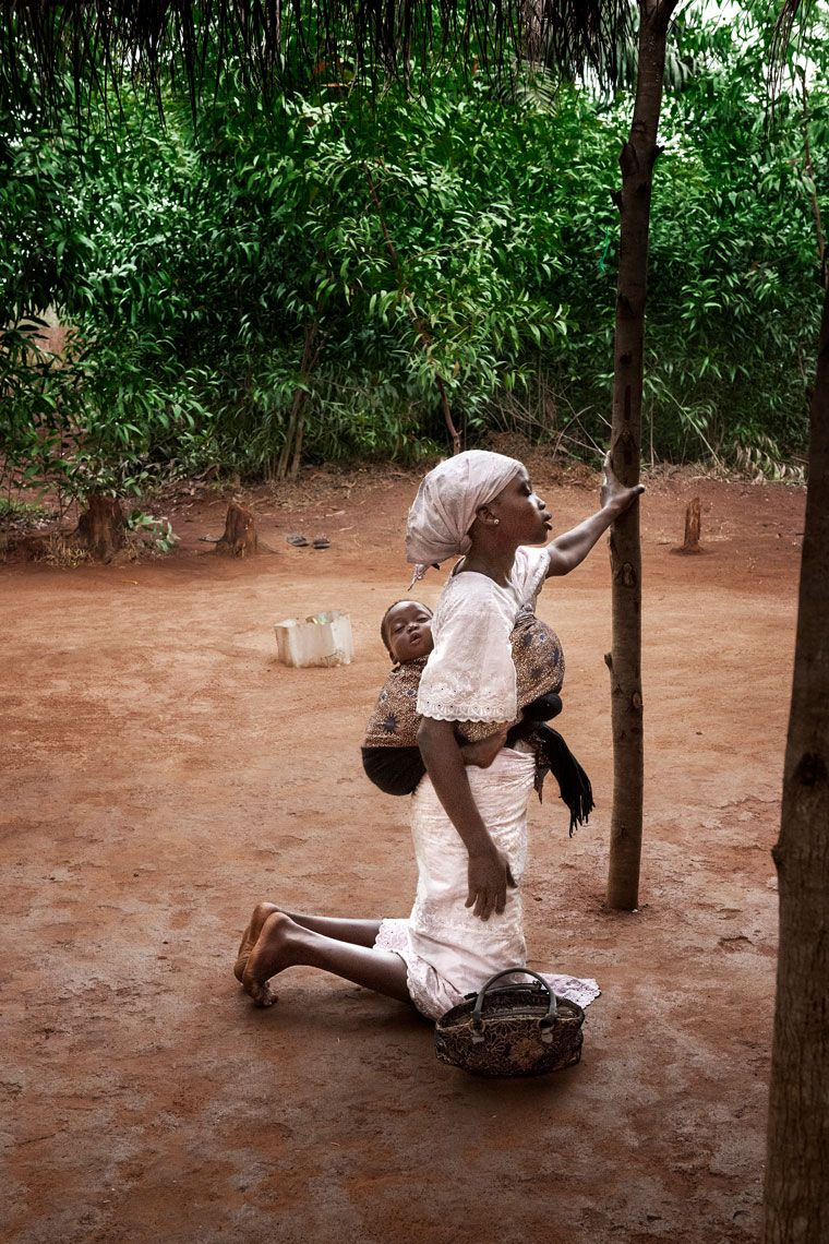 Mother and Child in Benin; 2017 | Img: Steve McCurry (1950