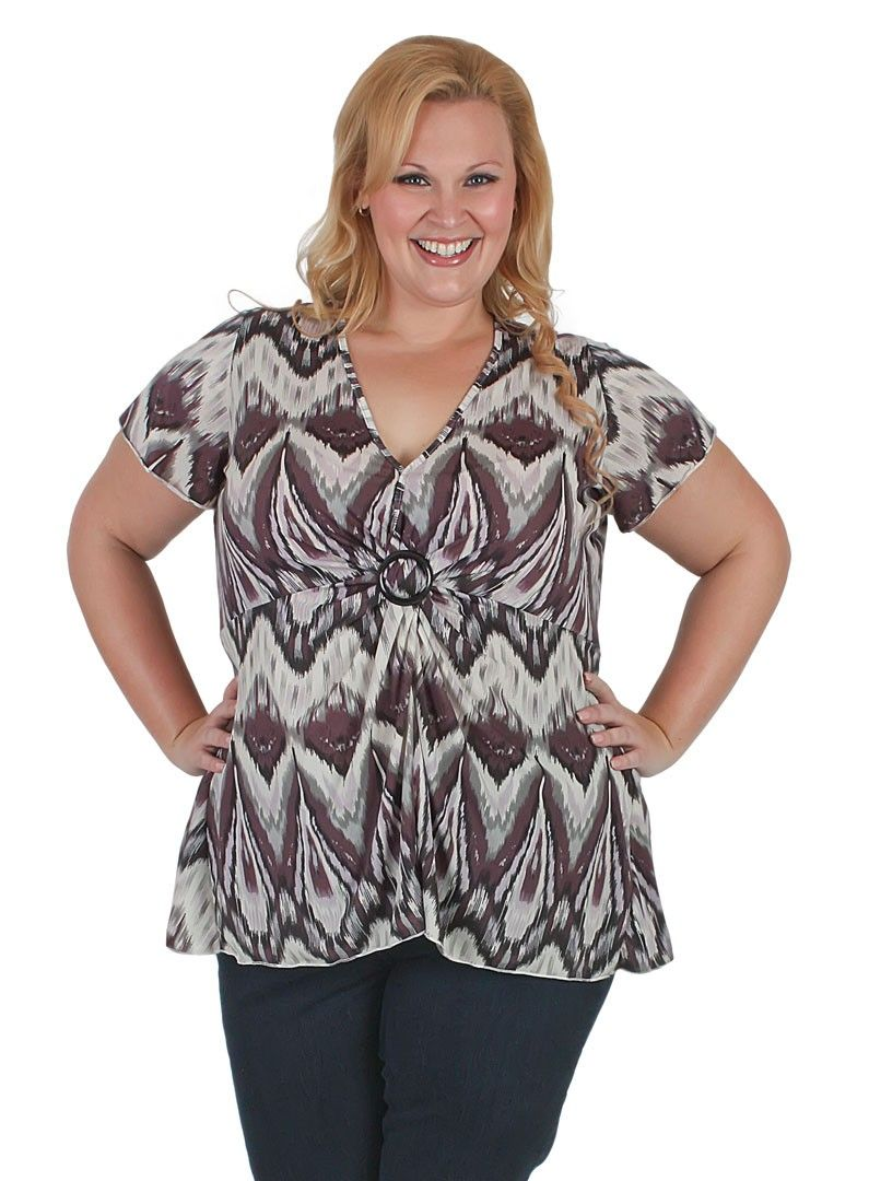 Casual and fun top from #Curvaceousclothing# #plussize# #top# Sizes 18 to 28