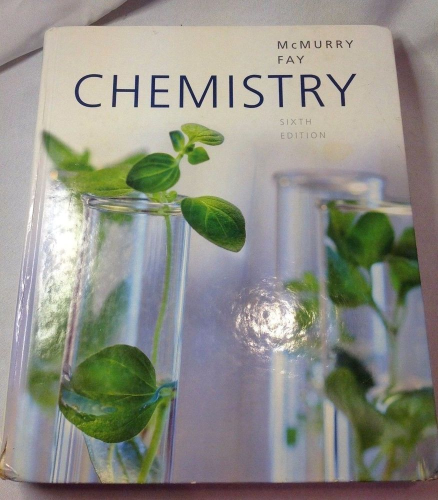 Chemistry 6th Edition by McMurry, John E.; Fay, Robert C. - Hardcover Text  Book #Textbook
