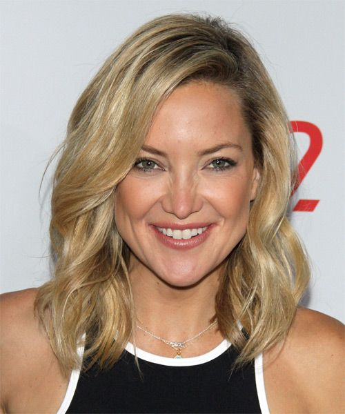Casual Hairstyles Cool Kate Hudson Hairstyle  Long Wavy Casual  Light Blonde  It's All