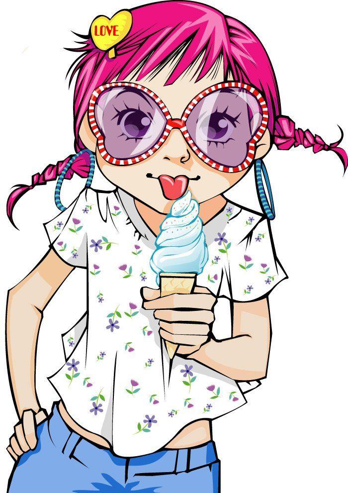 10 Mewarnai Gambar Gadis Kecil bonikids Cute cartoon