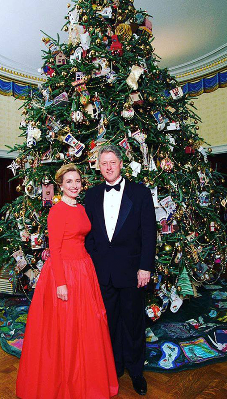 Merry Christmas from First Lady Hillary Clinton and President Bill ...