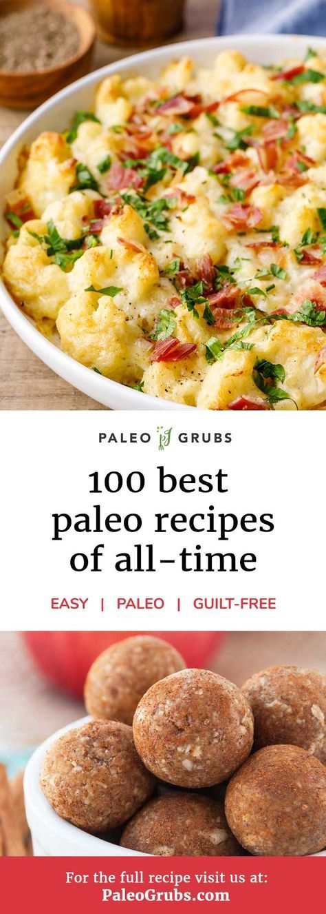 100 Best Paleo Diet Recipes of 2019 – Breakfast, Dinner and Desserts images