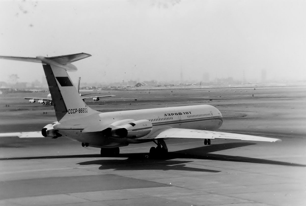 1971. Aeroflot / Tokyo to Paris