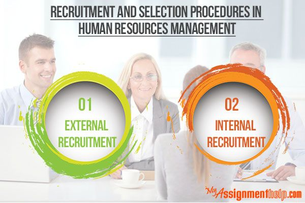 Myassignmenthelp.com: Successful human resources (HR) management requires a careful process of recruitment and selection of candidates for a particular job profile in order to achieve best possible results. Usually, there are two basic methods followed by companies: