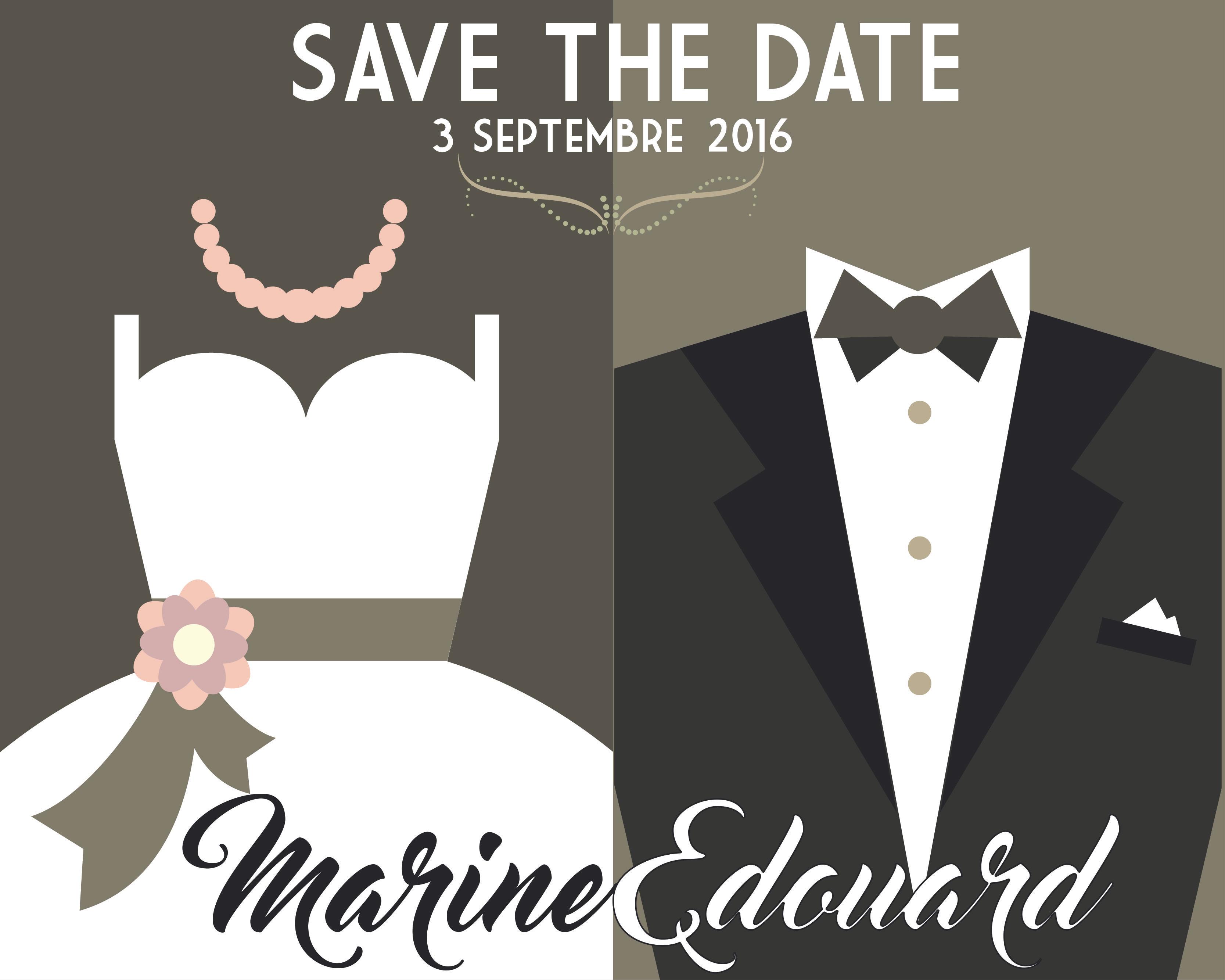 Marine & Edouard - Thème Chic