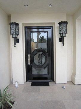 Art Deco Front Door Fixtures Modern Exterior San