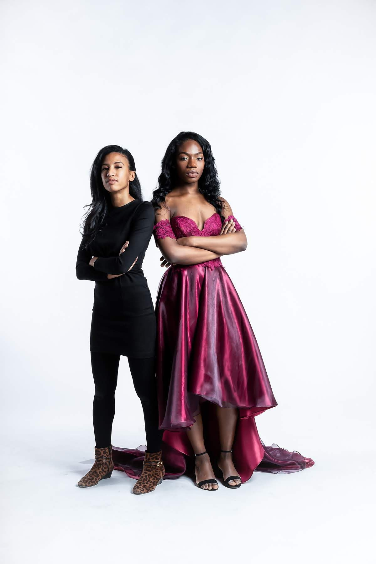 Fashion Designer Kelsy Dominick And 17 Year Old Us Olympic Team Speed Skater Maame Afua Biney Are Goals Both Women Custom Dresses Fashion Couture Designers