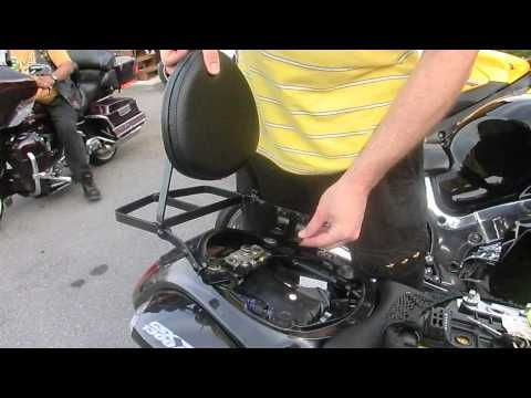Hayabusa Back Rest Installation & Quick Review | random
