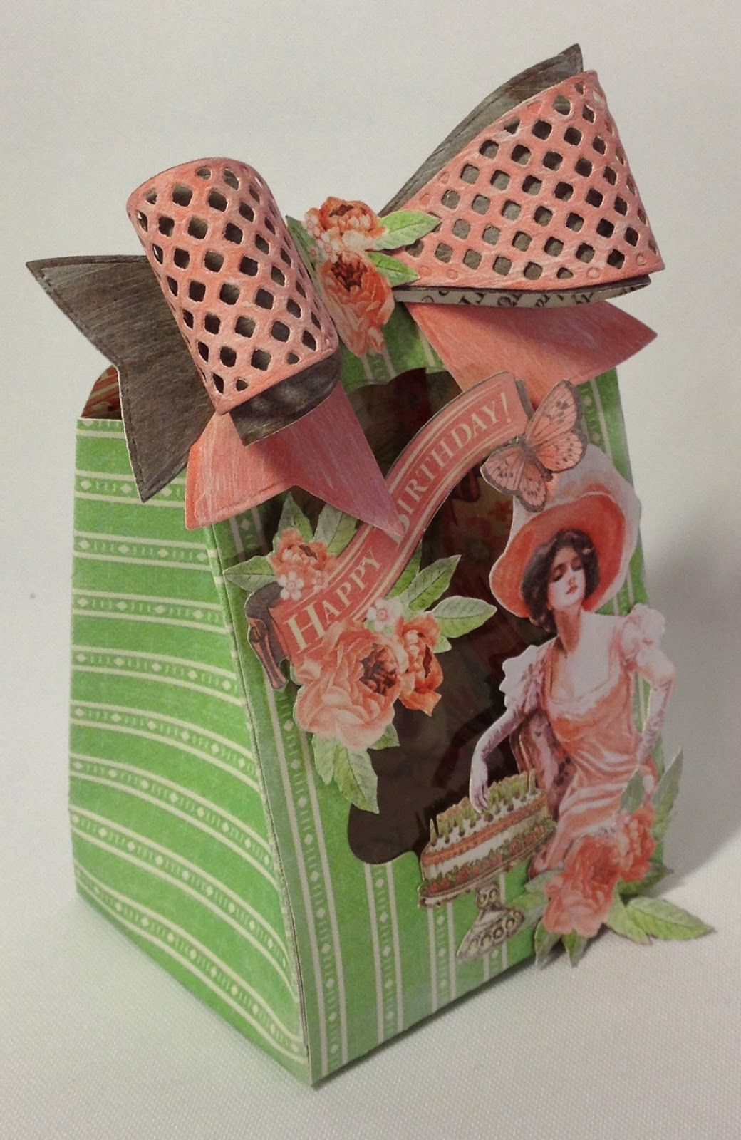 G45 Time to Celebrate tag treat bag By  Anne Rostad