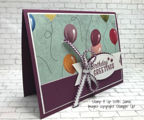 Stampin Up Birthday Delivery Stamp It Up With Jaimie Create