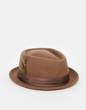 3e92f7cbda8 Brixton Stout Pork Pie Hat