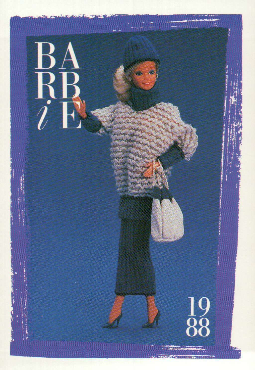 "Barbie Collectible Fashion Card  /"" Spectacular Fashions /""  1985"