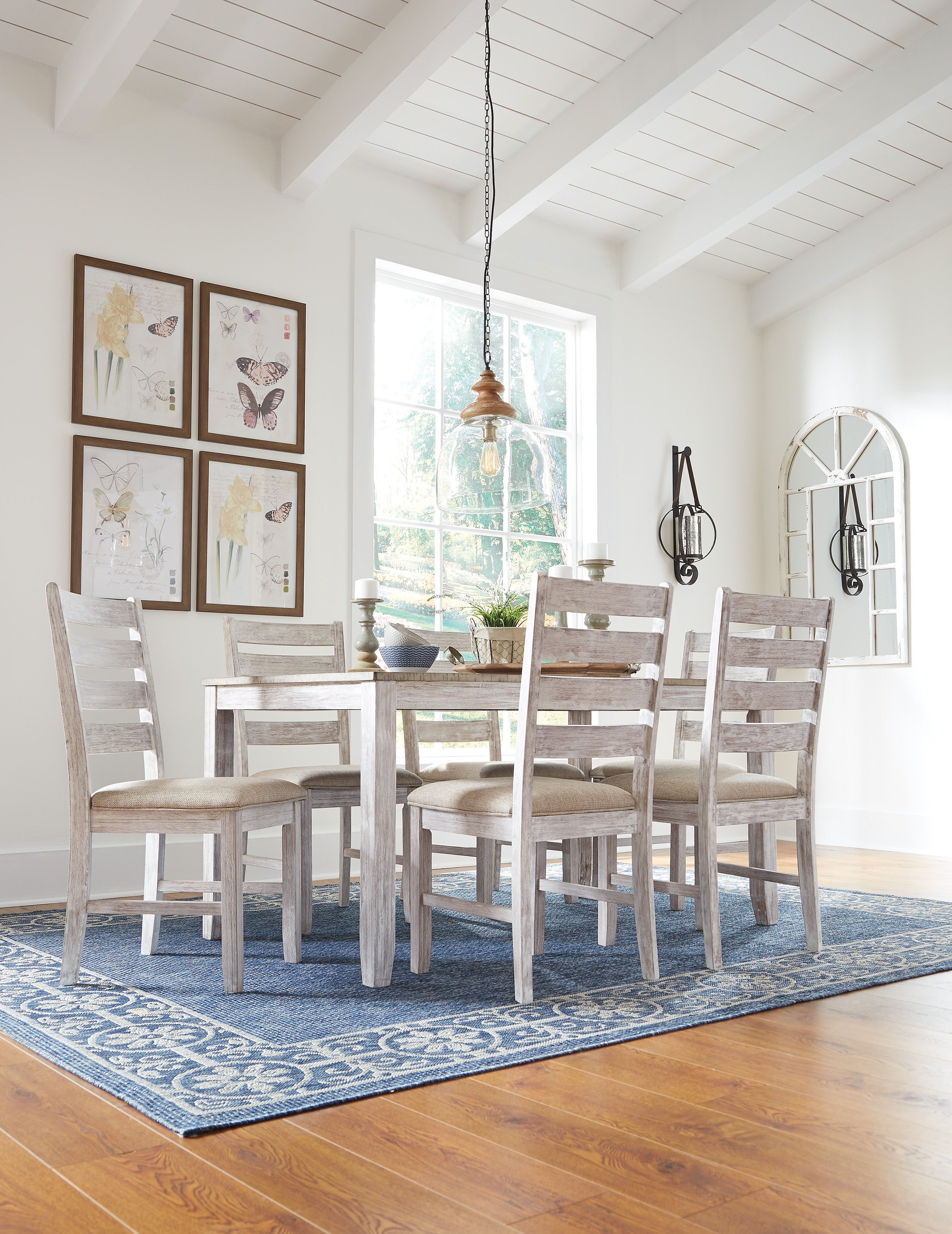 78339731c78fd Skempton 7 Piece Dining Room - Product Information Pull up a chair and dine  in the