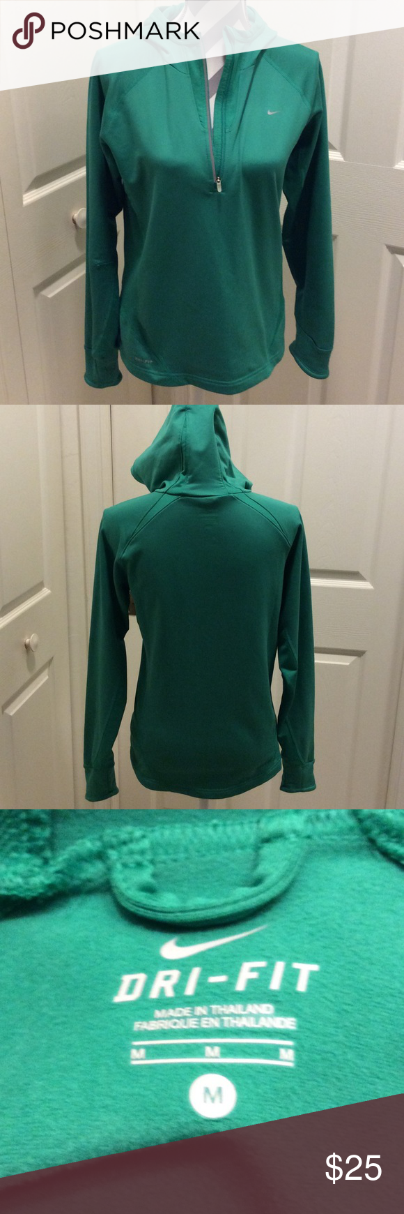 Nike Dri-Fit Hoodie Excellent used condition, worn once! Nike Tops Sweatshirts & Hoodies