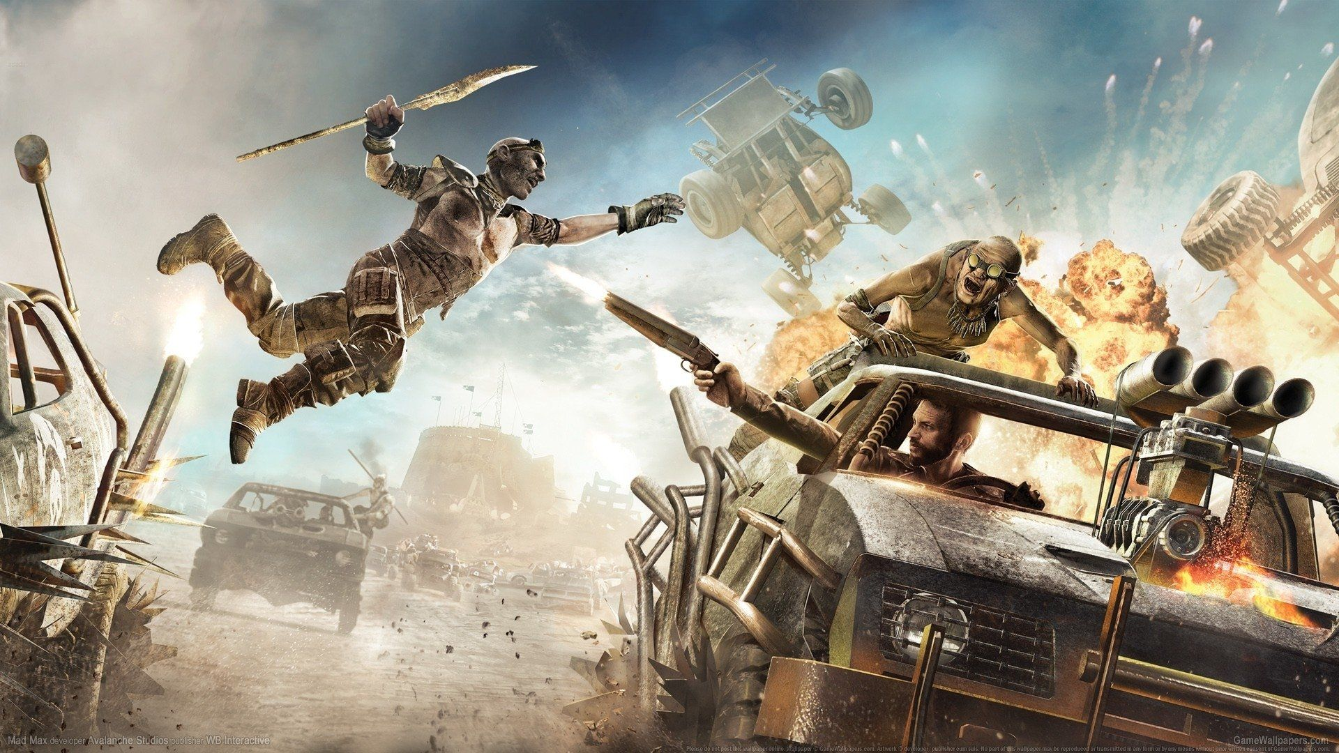 Video Game Wallpapers Wallpaper   Mad max, Movie ...
