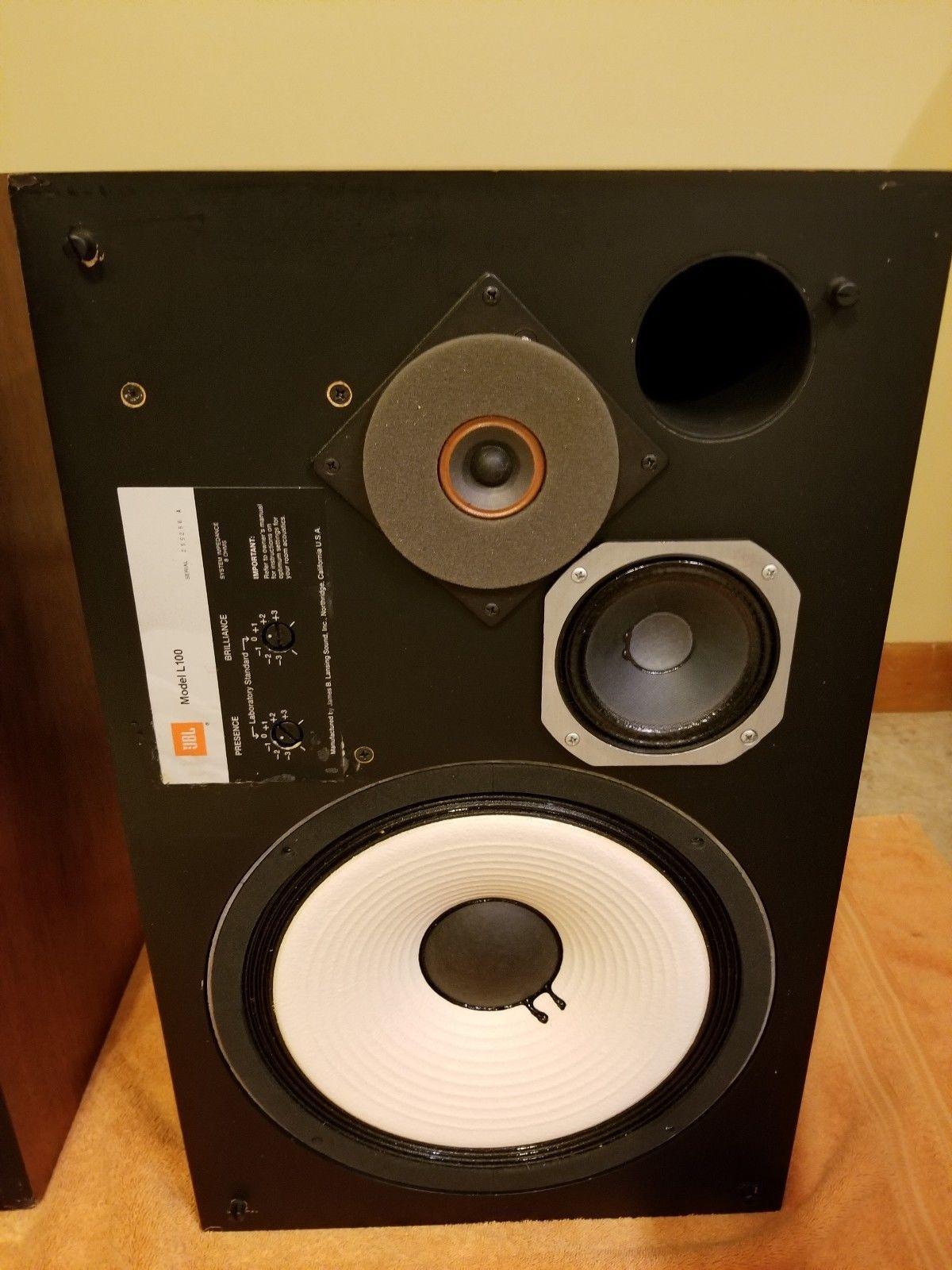 JBL L100 Century speakers with Grills, Pair in 2019   HiFi Heaven
