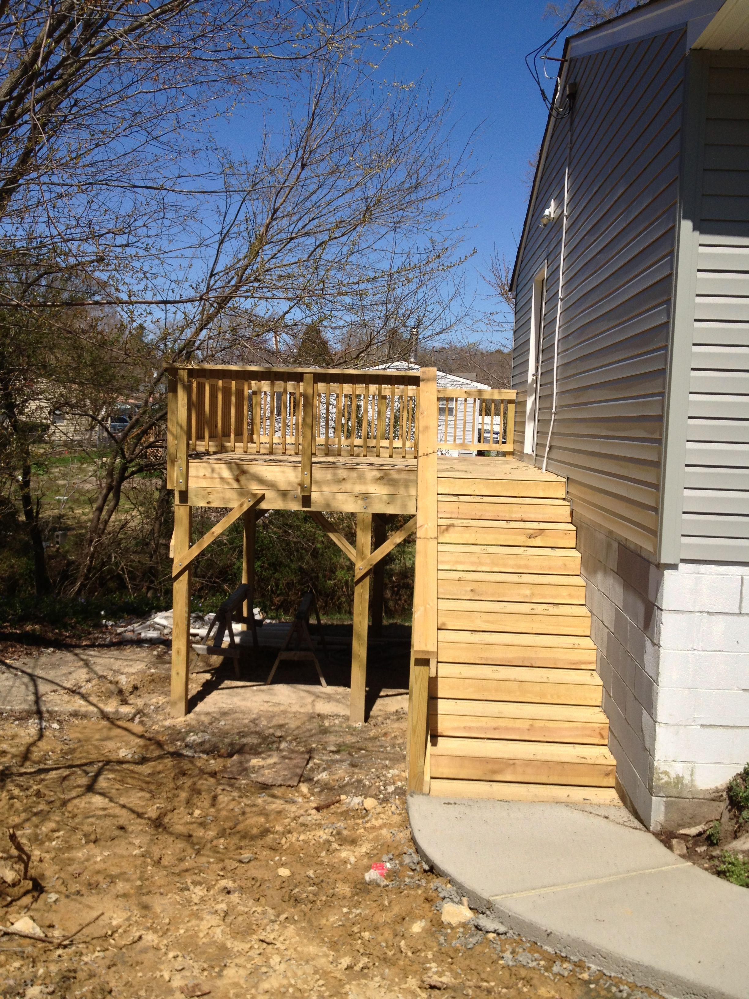 Deck. By Edgerton Contracting Inc.  Newport News, VA