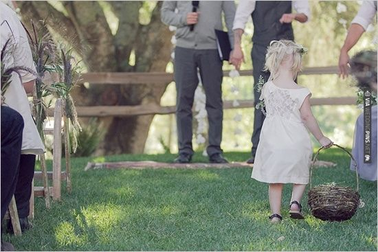 flower girl walking down aisle | CHECK OUT MORE IDEAS AT WEDDINGPINS.NET | #weddings #flowergirls #ringbearers