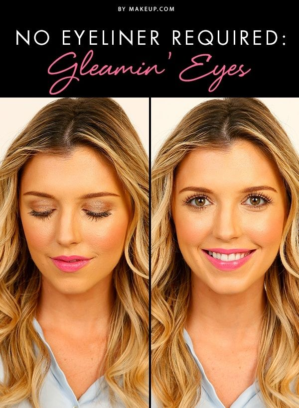 how to make your eyes smaller with makeup