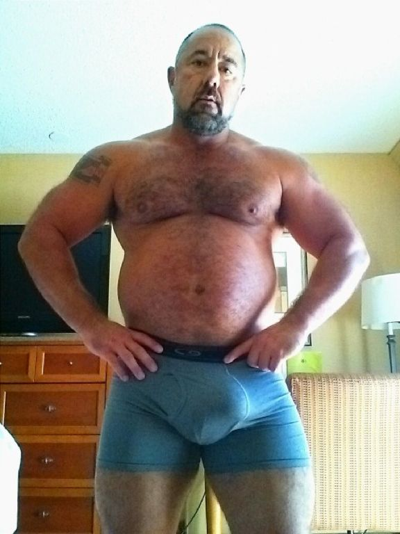 Something is. chubby gay dads share your