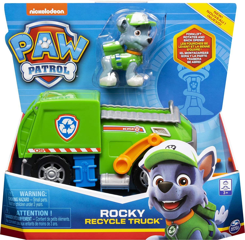 La Pat/' Patrouille - Jeu enfant Véhicule Figurine Rocky Paw Patrol