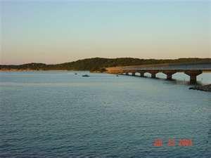 Beaver Lake Arkansas   Hwy 12 Bridge East of Rogers  worked bank conversion