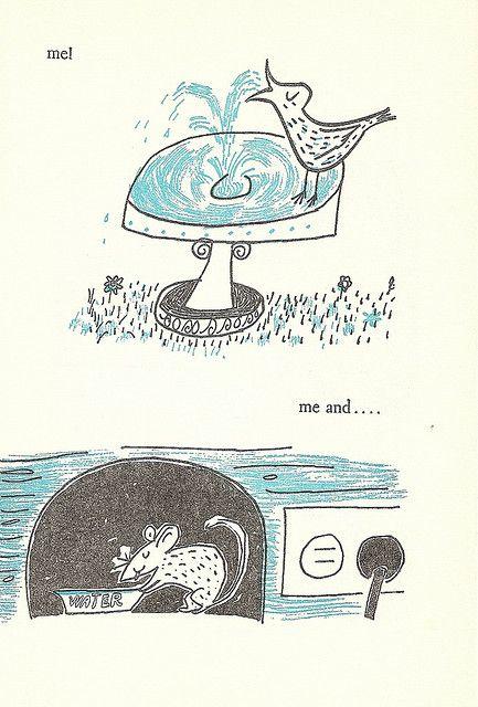 Plink Plink!, by Ethel and Leonard Kessler; Doubleday. 1954.