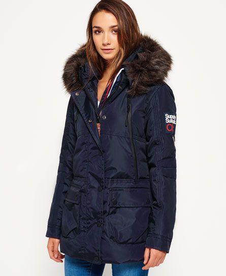 Superdry Canadian Ski Parka Jacket Navy  d5d414102
