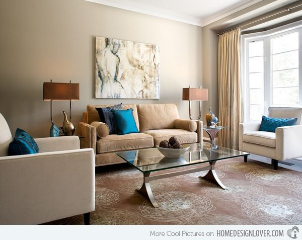 Living Room Designs Pictures Amazing 15 Relaxing Brown And Tan Living Room Designs  Living Rooms Room Design Inspiration