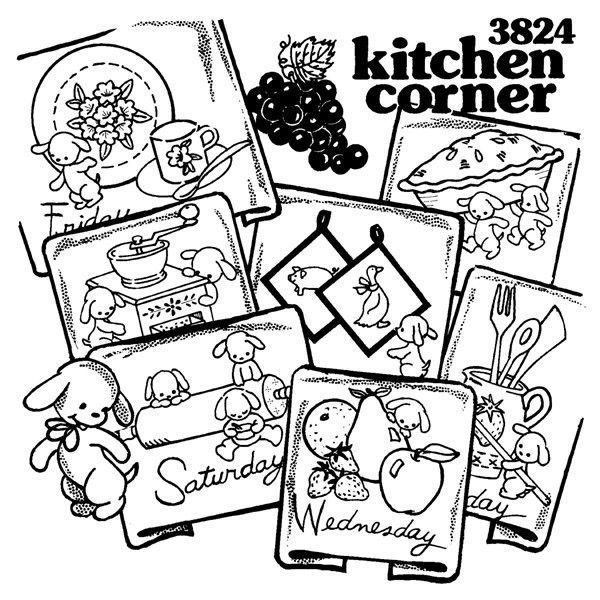 Aunt Martha\'s Hot Iron Transfers - Kitchen Corner | Products | Pinterest