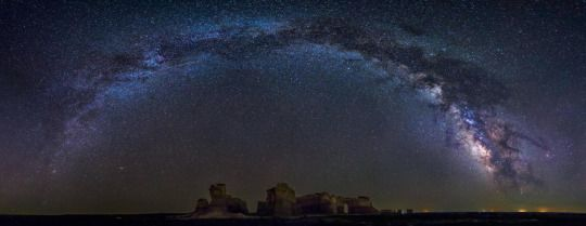 Just Space Monument Rocks Space Pictures Milky Way
