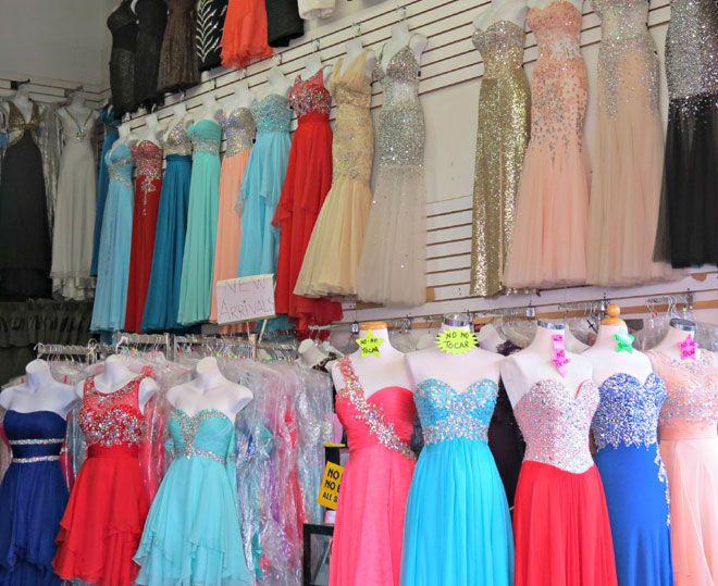 prom dresses la boutique