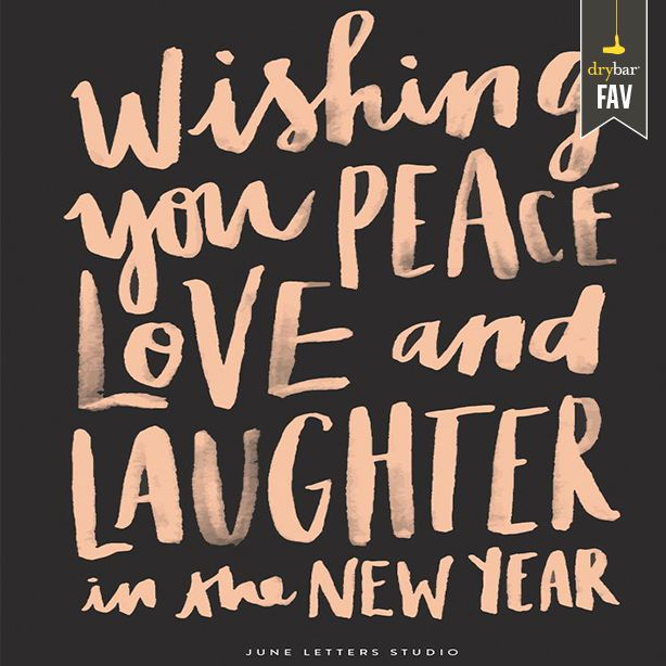 peace, love & laughter
