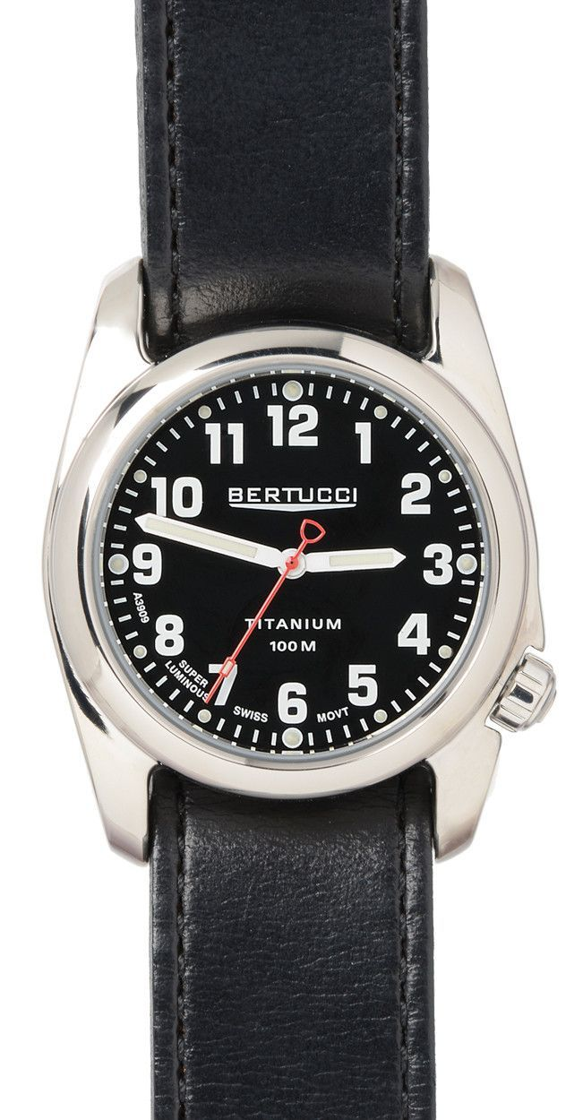 BERTUCCI 12091 Watches for men, Field watches, Polished man