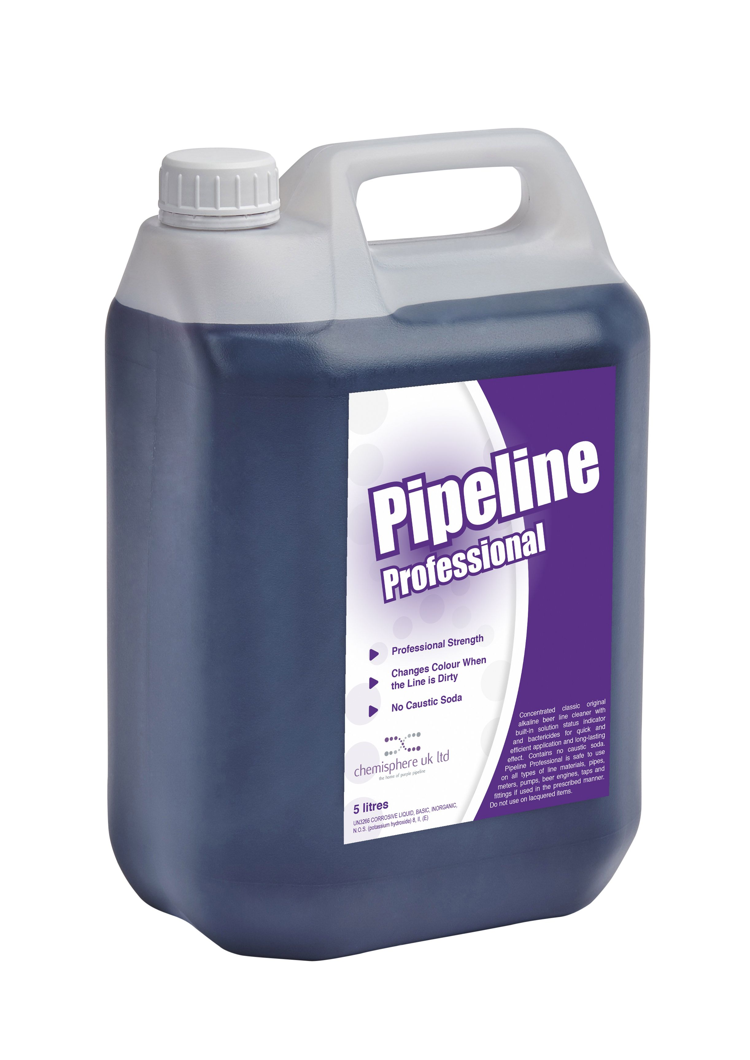 Pipeline Professional is a professional strength purple