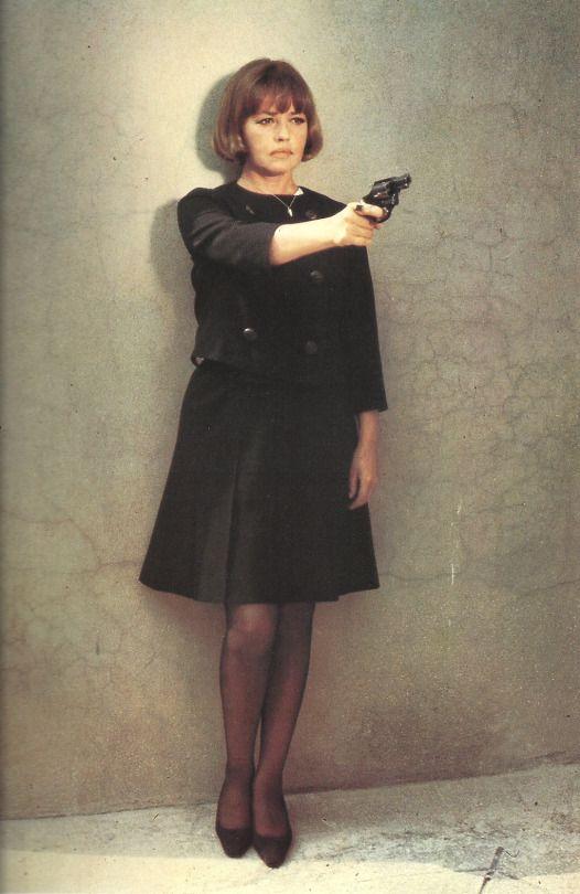 """Images par Corinne Granger. corinnegranger  Jeanne Moreau dans """"la mariée était en noir"""", un film de François Truffaut, 1967"""