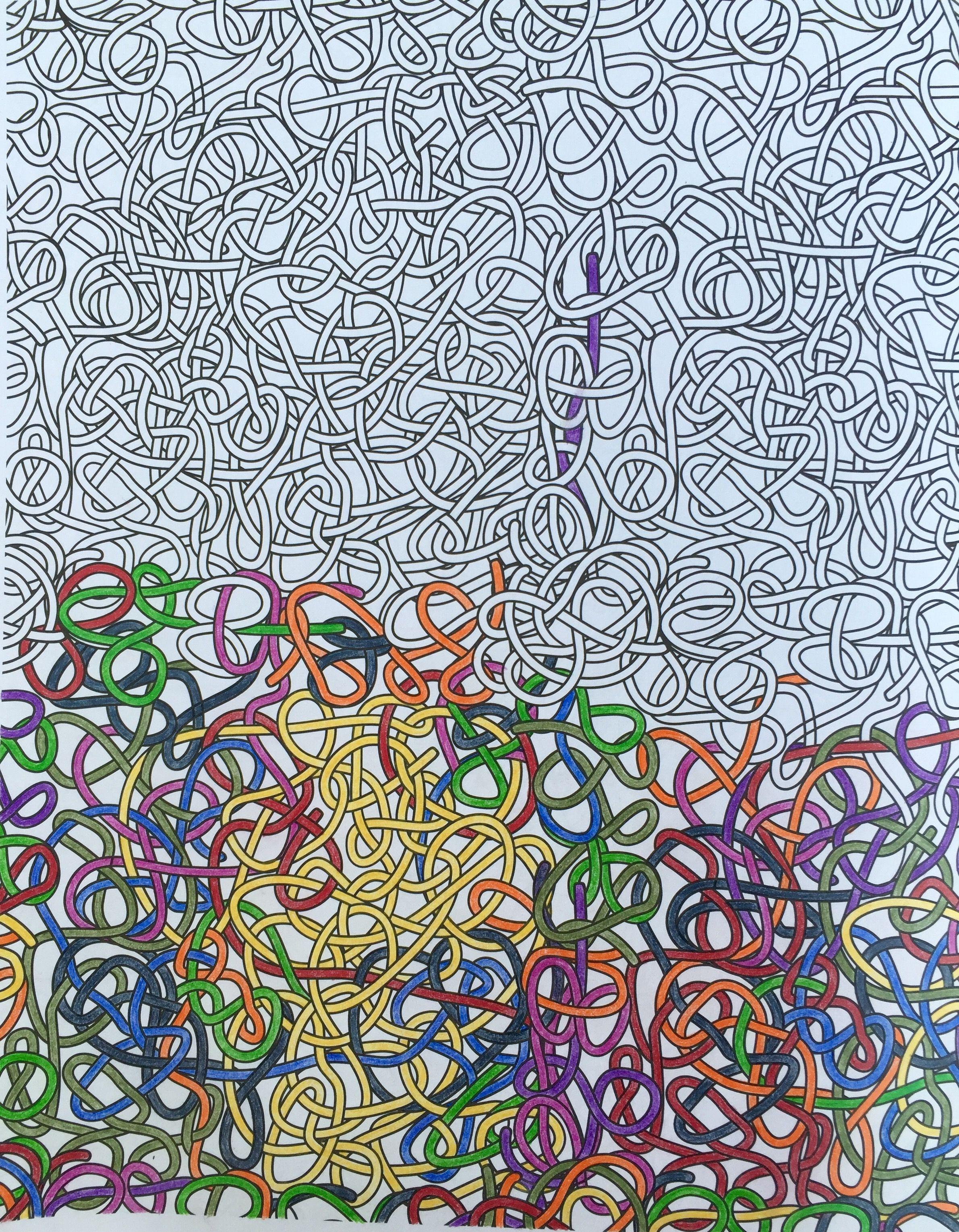 Uit een prachtig kleurboek van Blokker.