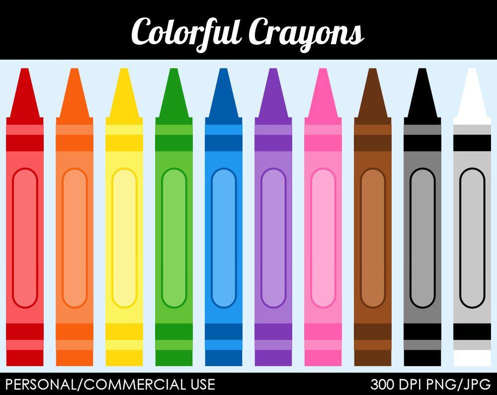 Pin By Regina Vogt On Printables Color Crayons Clip Art Digital Clip Art Graphics