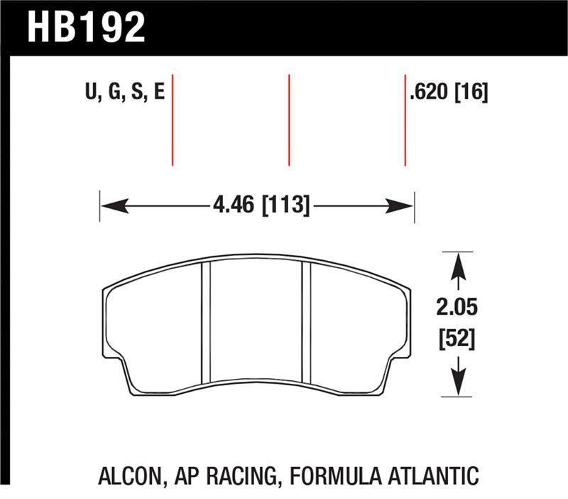 Hawk AP Racing CP4567 / CP5040-10/11/12/13S4 / CP5100