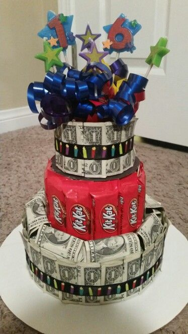 Money Cake On A Budget Used About 50 Worth Of 1 S To Make This