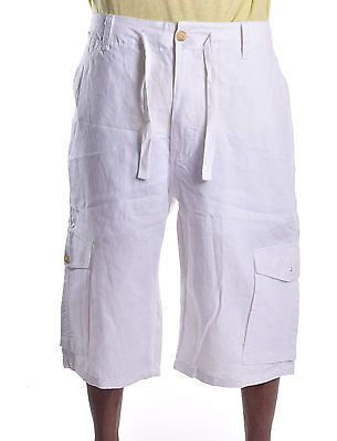 Sean John Men's Linen Cargo Shorts | Fashion | Pinterest | Cargo short
