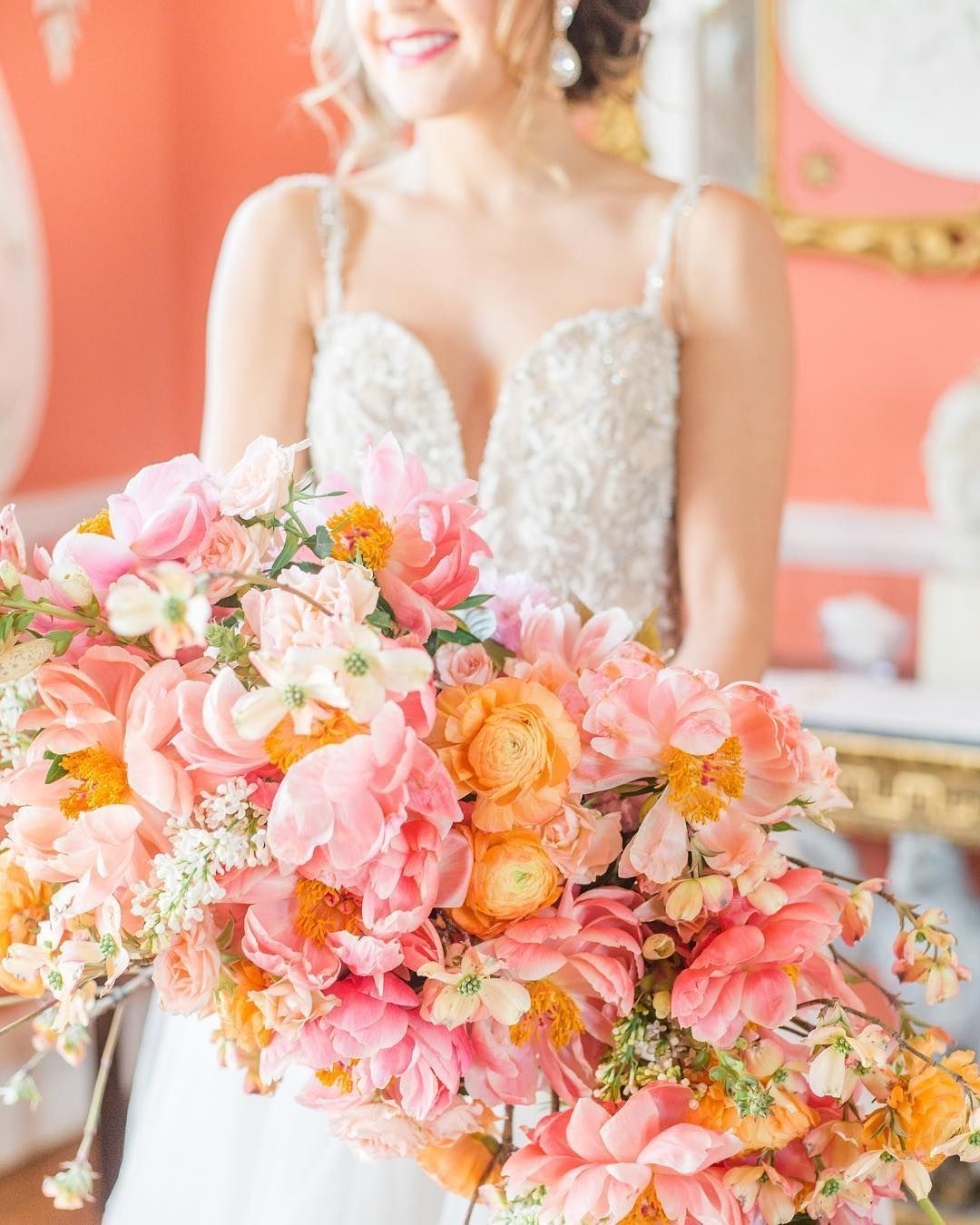 32 Living Coral Wedding Ideas for Any Season - Amaze Paperie