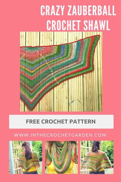 Crazy Zauberball Shawl Free Crochet Shawl And Crochet