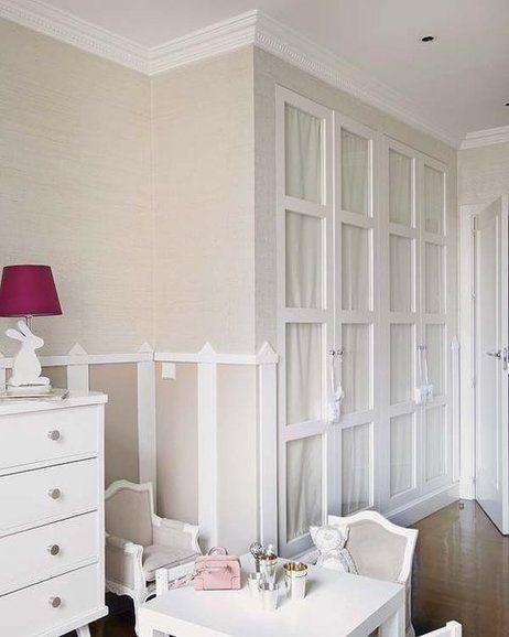 Armarios con puerta de cristal dormitorio abuardillado - Armarios infantiles ...