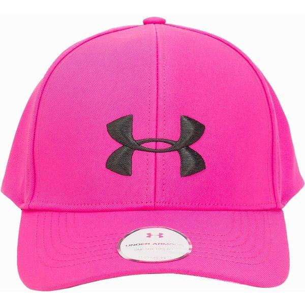 pink under armour cap