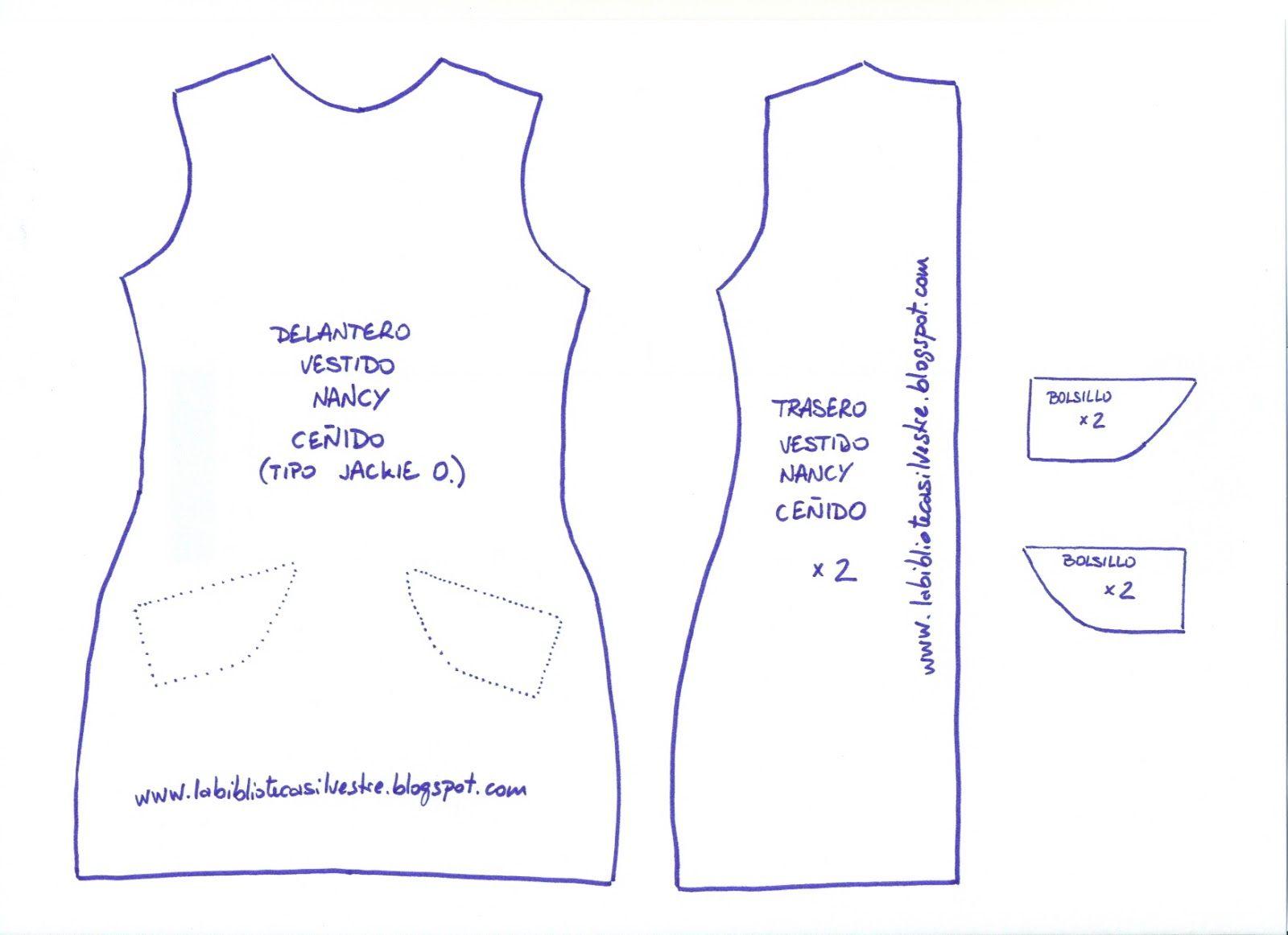 patrón+nancy+vestido+ceñido.jpg (1600×1162)