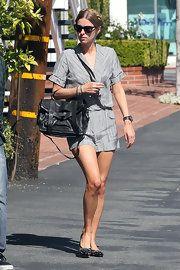 Nicky Hilton Embellished Flats
