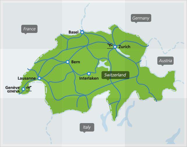 Trains in Switzerland Switzerland and Travel europe