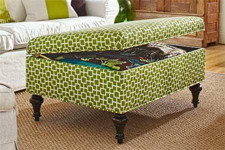 Miraculous Diy Furniture Diy Build A Storage Ottoman Crafts Frankydiablos Diy Chair Ideas Frankydiabloscom